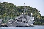 JS Syonan(AMS-5106) right rear view at JMSDF Yokosuka Naval Base April 30, 2018 02.jpg