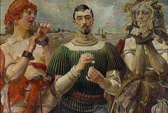 Jacek Malczewski, Hamlet Polski - Portret Aleksandra Wielopolskiego.jpg