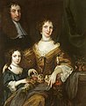 Jacob Huysmans - Dr Peter Barwick, His Wife, Anne and Daughter, Mary, Later Lady Dutton.jpg