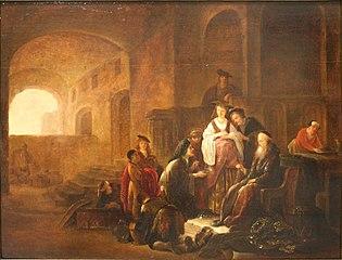 Scène de l'ancien testament.