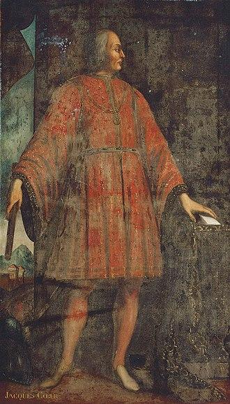 Jacques Cœur - Jacques Coeur (follower of Jean Fouquet, 15th century)