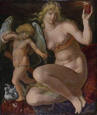 "Jacob de Gheyn II - Portrait of ""Venus and Cupid"", c.1605-1610"