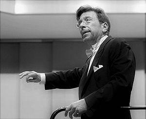James Allen Gähres - James Allen Gähres after conducting a philharmonic concert