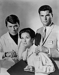 James Darren Lee Meriwether Robert Colbert Time Tunnel 1966.JPG