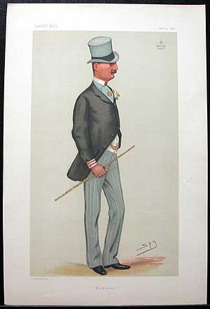 James Butler, 3rd Marquess of Ormonde - Caricature by Spy in Vanity Fair 1878.