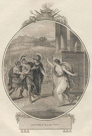 Jephtha (Handel) - Image: James Gundee & M. Jones Jeptha's Rash Vow