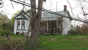 National Register of Historic Places listings in Humphreys County, Tennessee - Image: James N. Nolan House