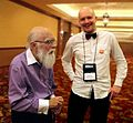James Randi and Kirill Alferov 2014.jpg