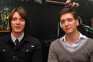 James and Oliver Phelps - James and Oliver Phelps at Lucca Comics and Games 2011