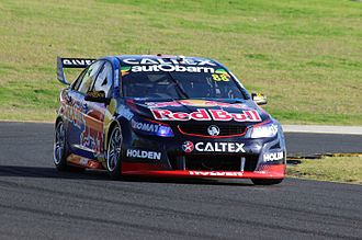 Jamie Whincup - Jamie Whincup took his 100th championship race win at the Sydney SuperSprint.
