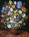 Jan Bruegel (I) - Bouquet of Flowers in a Ceramic VaseFXD.jpg