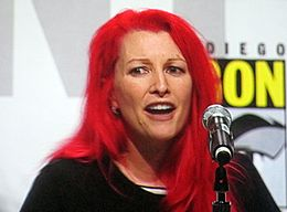 Jane Goldman at WonderCon 2010 3.JPG