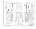 Jansonist Colony, Steeple Building, Main and Bishop Hill Streets, Bishop Hill, Henry County, IL HABS ILL,37-BISH,1- (sheet 6 of 6).png