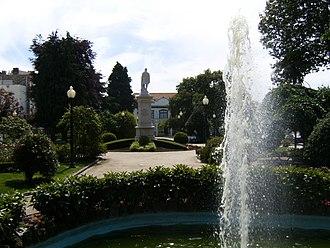 Paços de Ferreira - The civic gardens of Paços de Ferreira