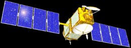 Artist's interpretation of the Jason-1 satellite