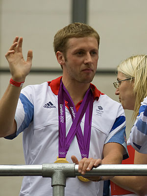 Jason Kenny - Kenny at Our Greatest Team Parade in 2012