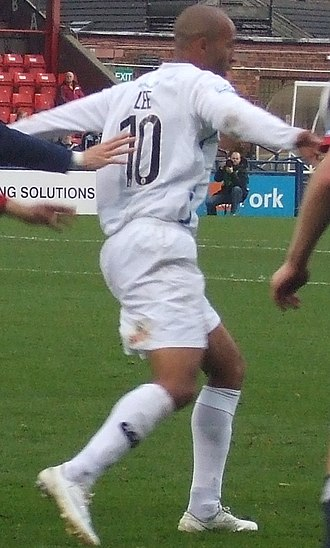 Jason Lee (footballer) - Lee playing for Mansfield Town in 2008