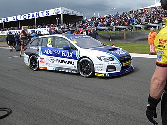Team BMR - Image: Jason Plato 2017 BTCC Knockhill (Sunday, R2 grid)