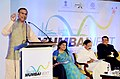 Jayant Sinha addressing at the Mumbai Next summit, in Mumbai. The Union Minister for Urban Development, Housing and Urban Poverty Alleviation and Parliamentary Affairs.jpg