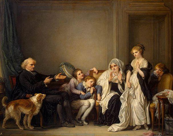 veuve et son prêtre