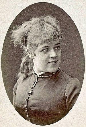 Jeanne Samary - Photograph by Nadar, c. 1877