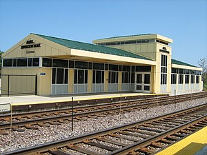Jefferson Park Transit Center - Image: Jefferson Park Metra Station