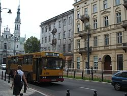 Jelcz bus no. 4466 in Warsaw