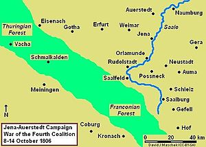 War of the Fourth Coalition - Jena-Auerstedt Campaign, October 1806