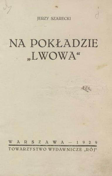 File:Jerzy Szarecki - Na pokładzie Lwowa.djvu