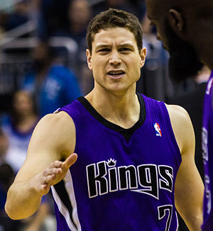 Jimmer Fredette - Fredette with Sacramento in 2013