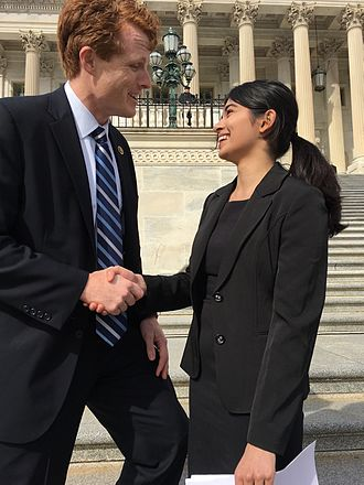 Joe Kennedy III - Kennedy meets with a constituent in Washington, D.C.