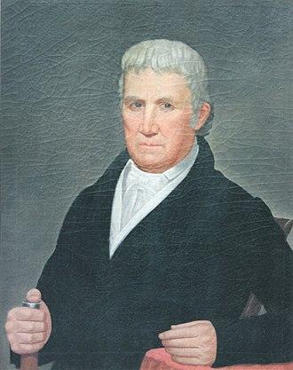 Joel Adams - Portrait of Joel Adams of South Carolina