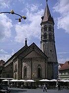 Die spätromanische Johanniskirche im Gmünd