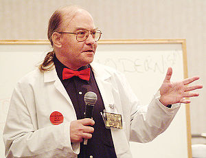 John M. Ford - Dr. Mike at Minicon 38 in 2003