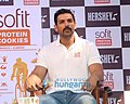 John Abraham graces the launch of Sofit Protein Cookies.jpg