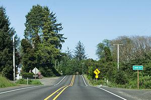 John Day, Oregon - The unincorporated community of John Day in Clatsop County, Oregon