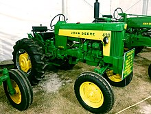 List of John Deere tractors - Wikipedia John Deere Starter Wiring Diagram on