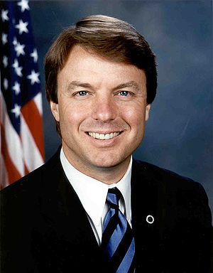 John Edwards - Image: John Edwards, official Senate photo portrait