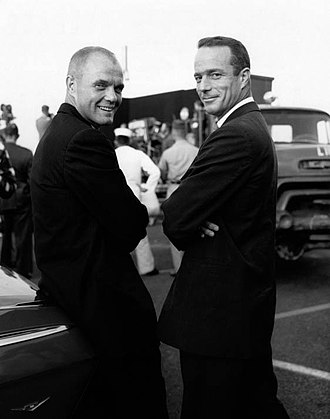 Scott Carpenter - Carpenter with John Glenn (left). The two were great friends