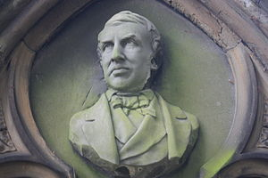 John Hill Burton - Image: John Hill Burton by William Brodie, Dean Cemetery