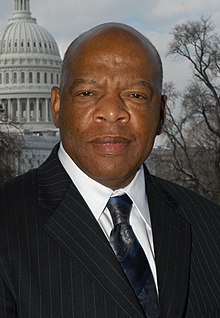 Esteemed Senator John Lewis (D) of Georgia, former chairman of the SNCC in the 1960s