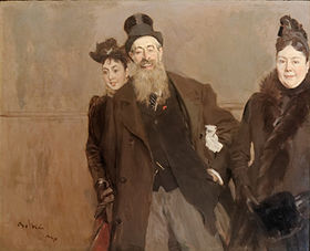 John Lewis Brown with Wife and Daughter by Giovanni Boldini 1890.jpg