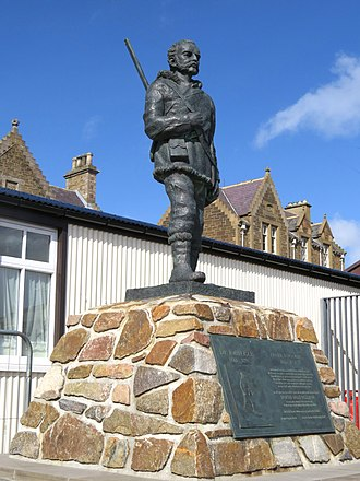 Stromness - Statue of Dr. John Rae at Stromness