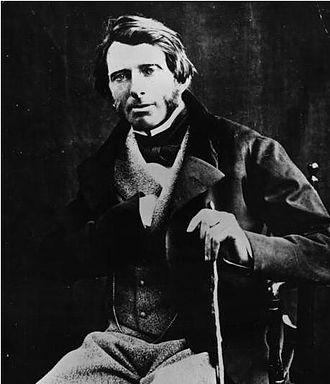 "Art critic - John Ruskin (1819-1900), c.1870. Leo Tolstoy described Ruskin as, ""one of those rare men who think with their heart."" A champion of the work of J.M.W. Turner, Ruskin detested the work of James McNeill Whistler"