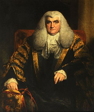 John Scott, 1st Earl of Eldon - John Scott (1751–1838), afterwards 1st Earl of Eldon, Younger Brother of Lord Stowell, Fellow (1767), Lord High Chancellor of England (1801–1806) by William C?Owen