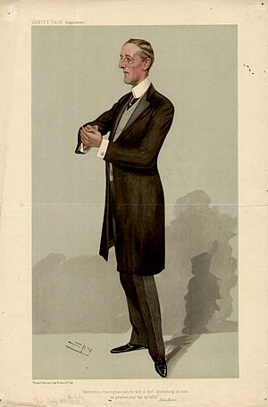 J. E. B. Seely, 1st Baron Mottistone - Caricature of Seely by Leslie Ward, 1905