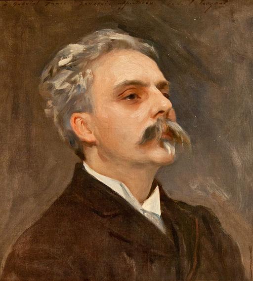 John Singer Sargent - Gabriel Fauré