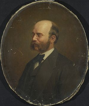 Jonas Axel Boeck - Jonas Axel Boeck Painting by Knud Bergslien