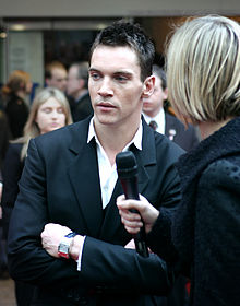 Jonathan Rhys-Meyers a l'estrena de Mission: Impossible 3 (2006)