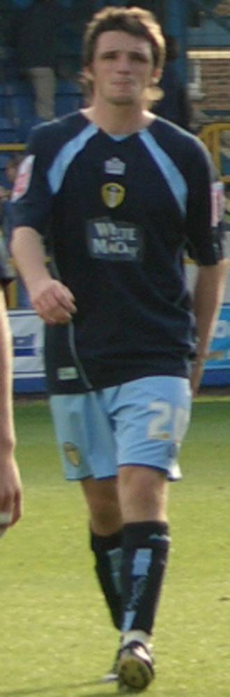 Jonathan Douglas - Douglas playing for Leeds United